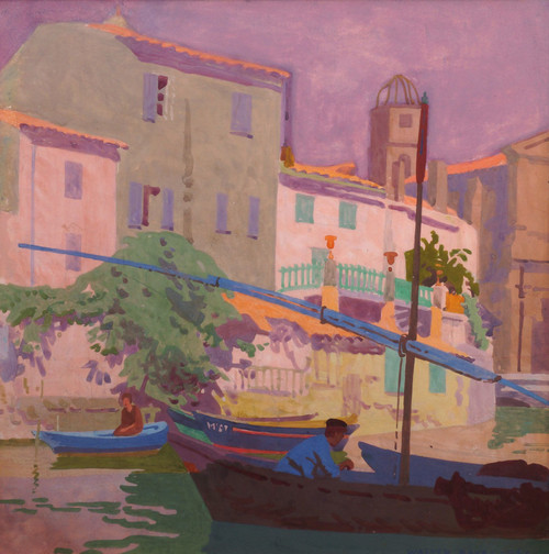 Sunset Toulon by Walter Bayes