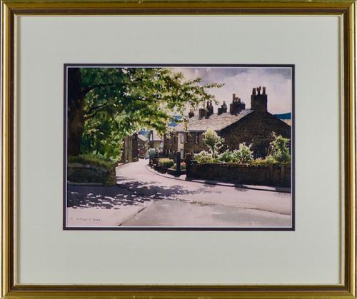 'Village Street' by Robert Littlewood - Now SOLD
