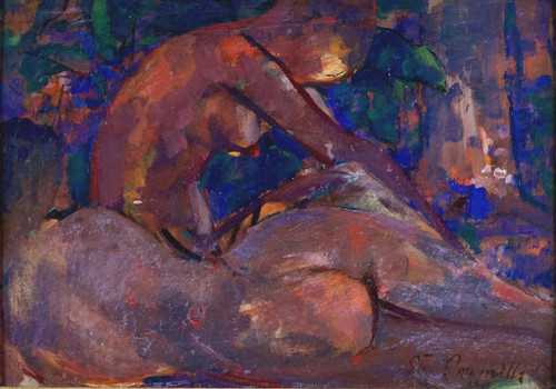 'Nudes in a Wood' by Stuart Somerville