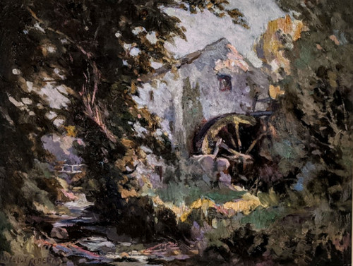 'The Old Windmill' by Lancelot Roberts