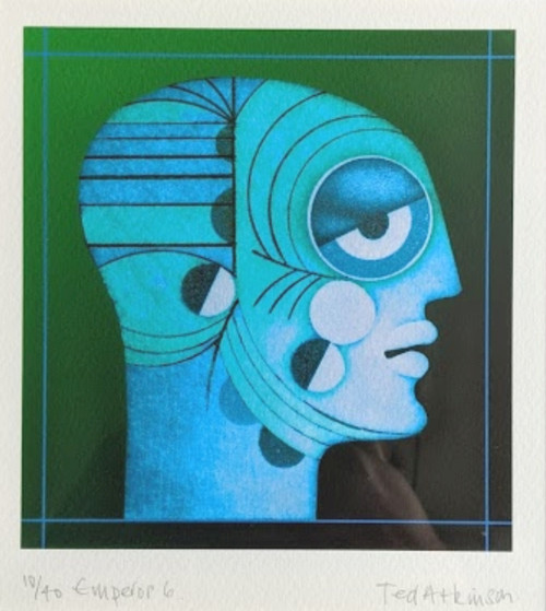 'Emperor 6' by Ted Atkinson - NOW SOLD