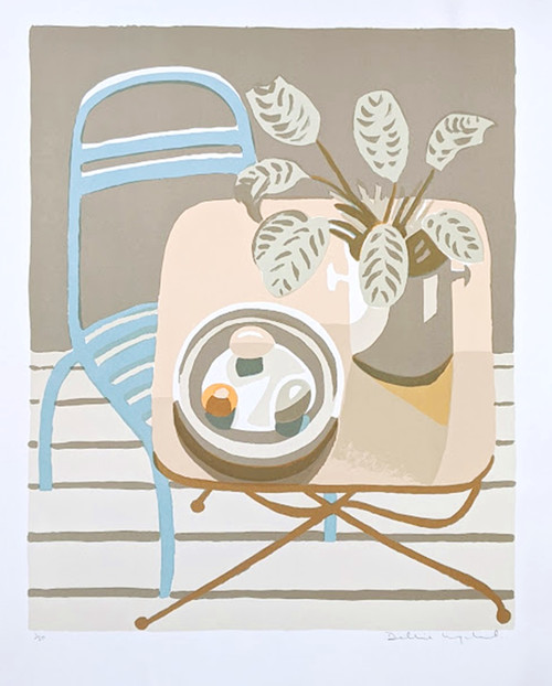 'Still Life' by Debbie Urquhart - Signed limited edition lithograph - Now Sold
