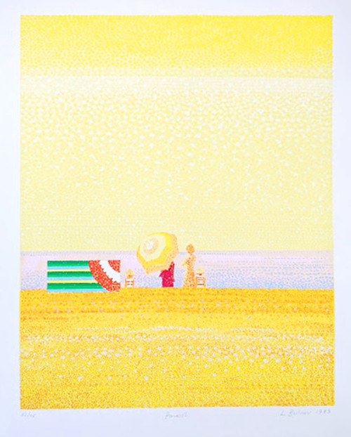 'Parasol' by Lionel Bulmer - Signed limited edition lithograph - SOLD