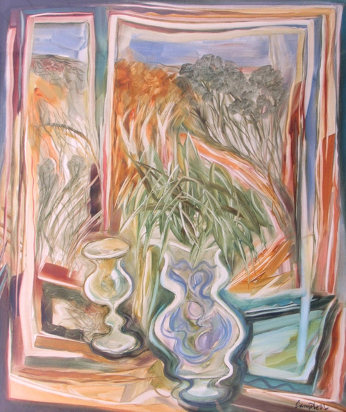The Bedroom Window by Peter Campbell - Now SOLD