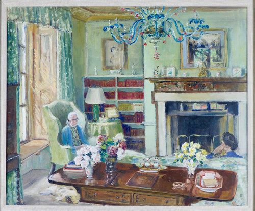 'View of an Interior' - Amy Kathleen Browning (1881 - 1972)