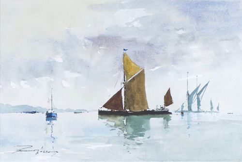 'Leaving the Moorings'  - Edward (Ted) Wesson