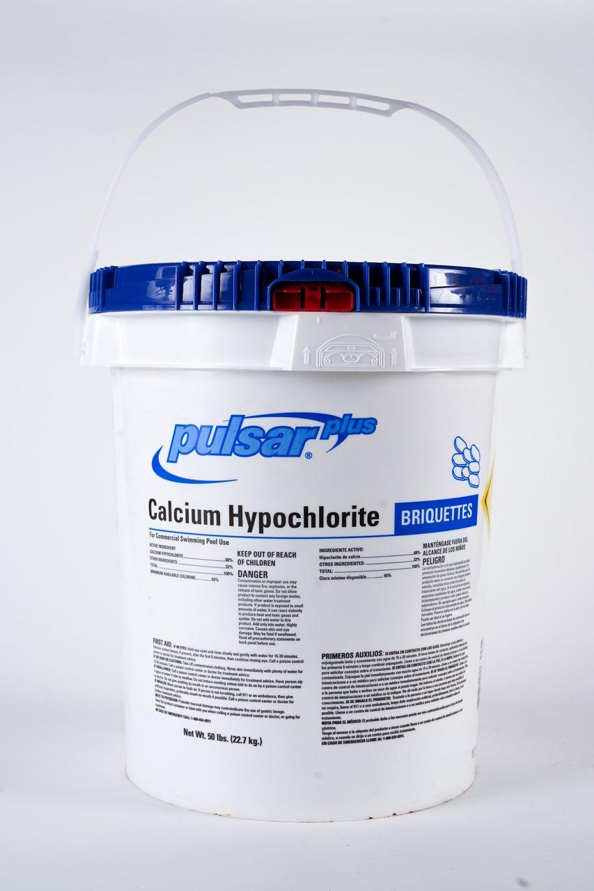 Chlorine - Pulsar (briquettes)50# Cal-Hypo