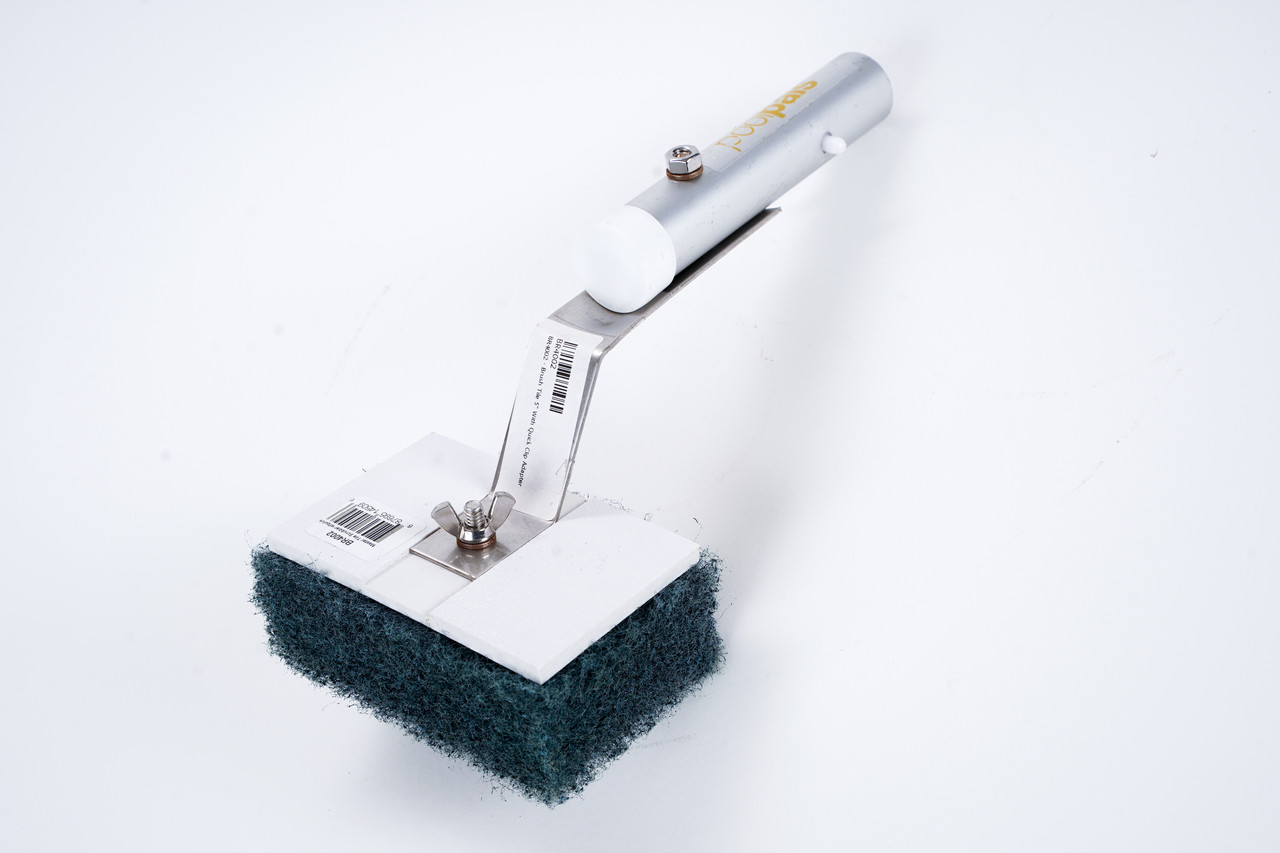 "Brush Tile 5"" With Quick Clip Adapter"