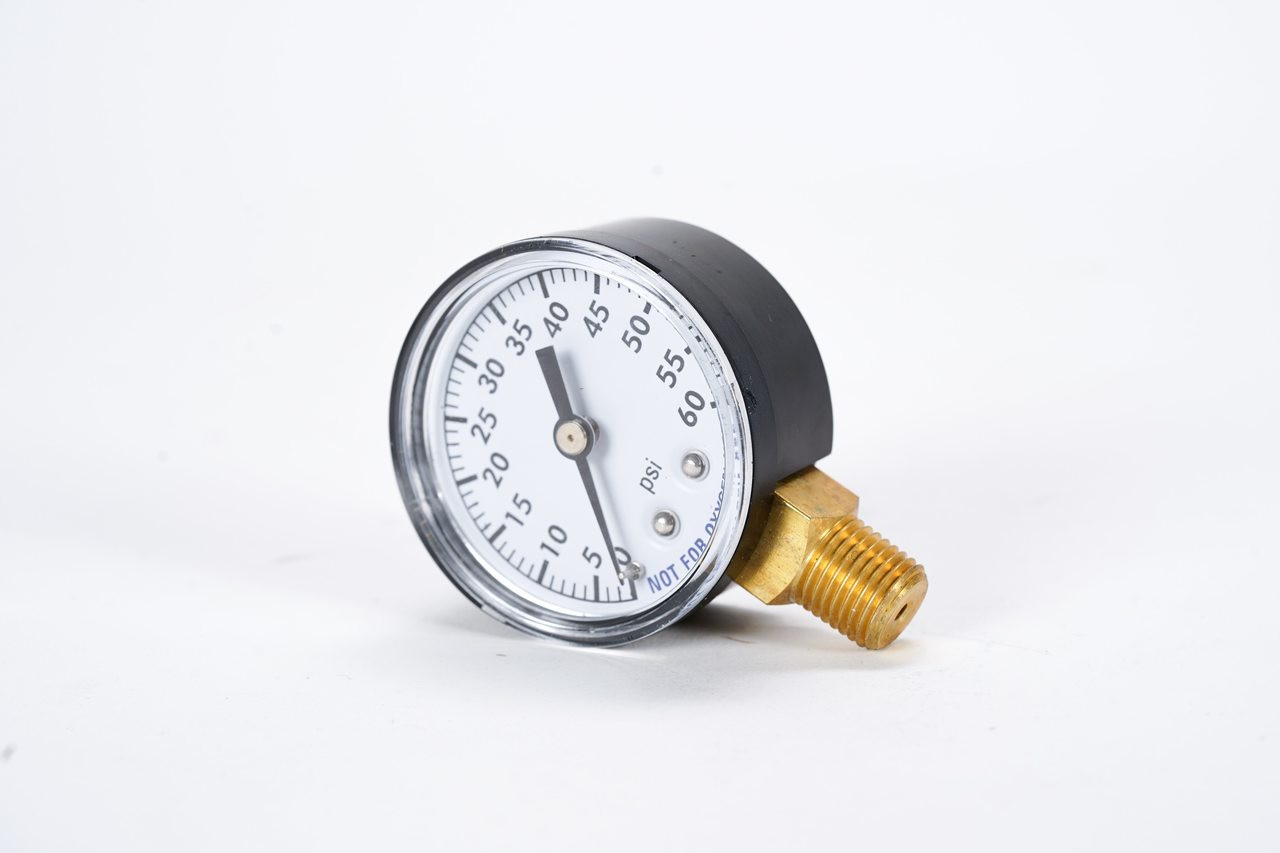 Gauge - Pressure - Bottom Mount