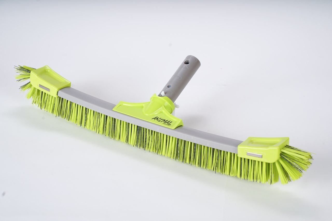 Brush - Commercial Grade Poly Bristles Animal Green
