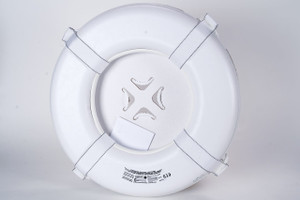 """White Foam Ring Bouy - 24"""" Coast Guard Approved"""