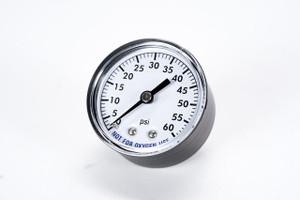 Gauge - Pressure - Back Mount