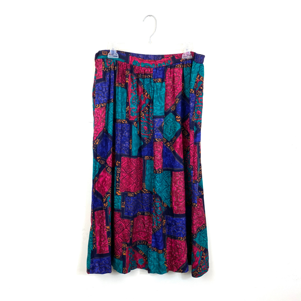 VTG ALFRED DUNNER Printed Skirt