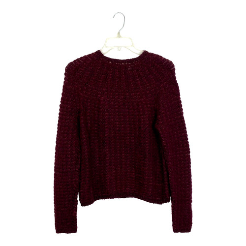 DKNY Chunky Knit Pullover- Front