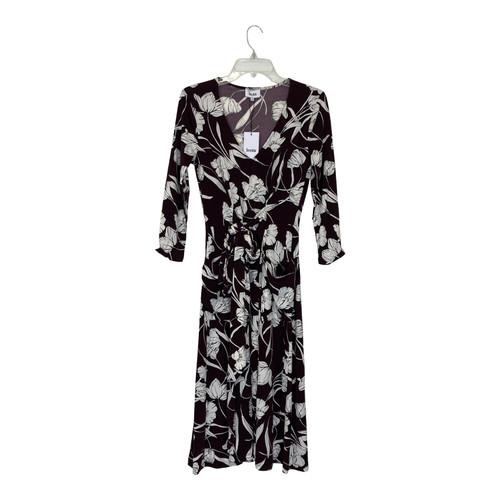 Leota Floral Print Tie Front Dress-Thumbnail