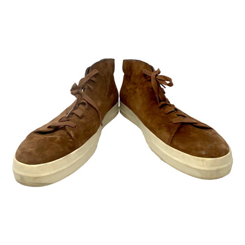 Vince High-Top Suede Sneakers- Instep