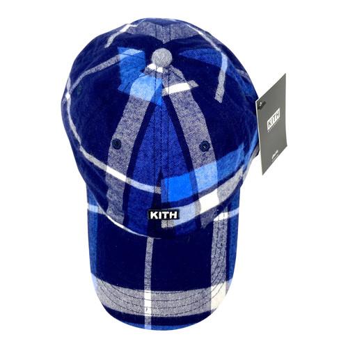 Kith Buffalo Plaid Baseball Cap- Top