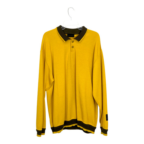 Carlo Colucci Long Sleeve Polo- Front