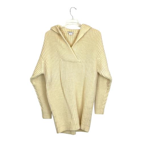 Calvin Klein Oversized Knit Hoodie- Front