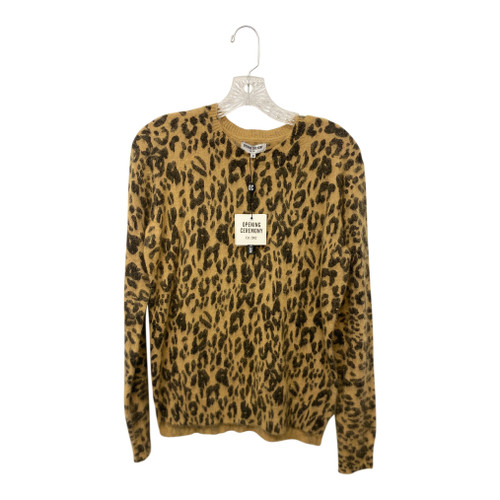 Opening Ceremony Cheetah Angora Pullover-Front