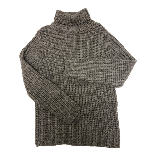 Christopher Fisher Oversized Turtleneck-Front
