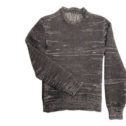 Heavyweight Knit Pullover-Front