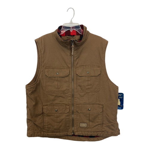Schmidt Workwear Cotton Canvas Vest-Front