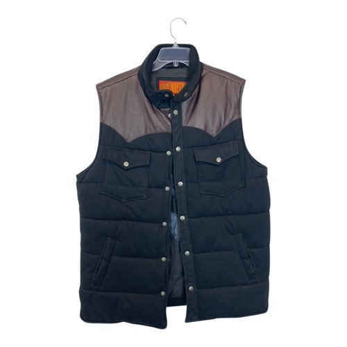 Hudson Outerwear Padded Down Vest-Front