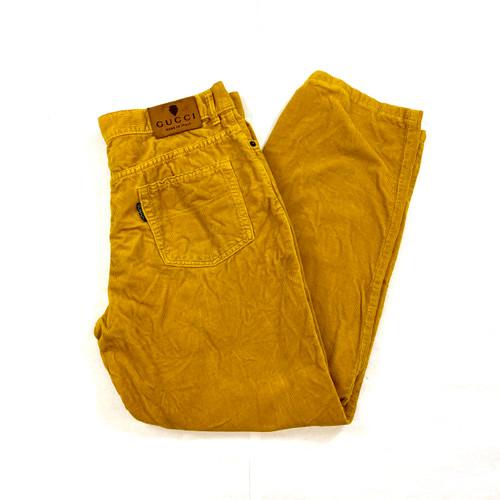 Gucci Straight Leg Corduroy Pants- Folded