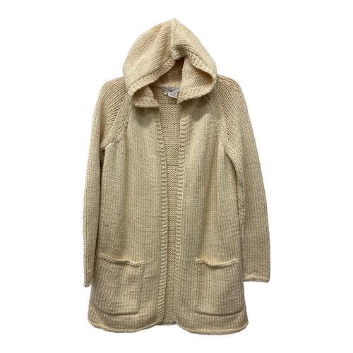 Celine Hooded Knit Cardigan-Front