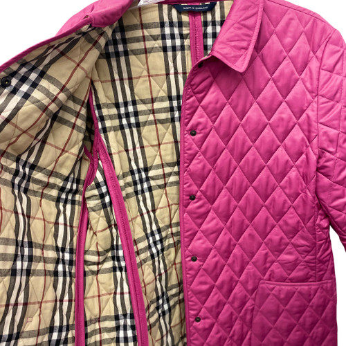 Burberry Classic Diamond Quilted Jacket-Lining