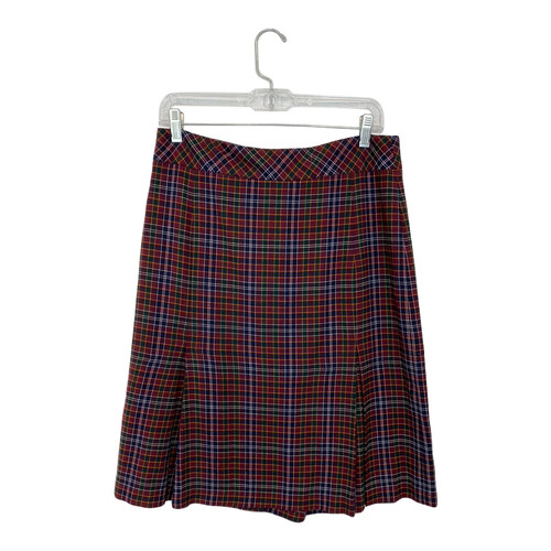 Vivienne Tam Tartan Skirt- Front