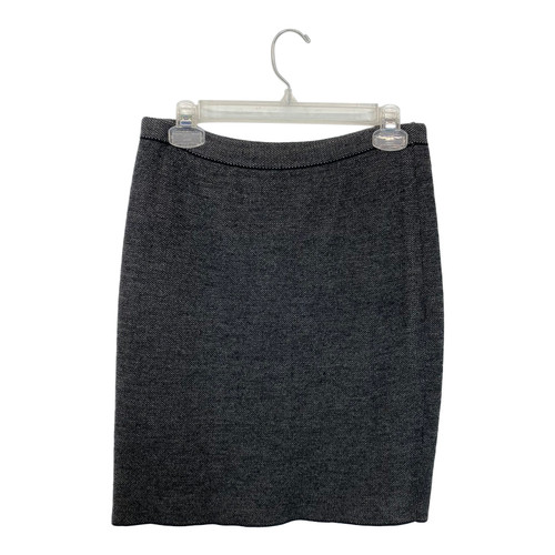 Eileen Fisher Jacquard Knit Skirt- Front