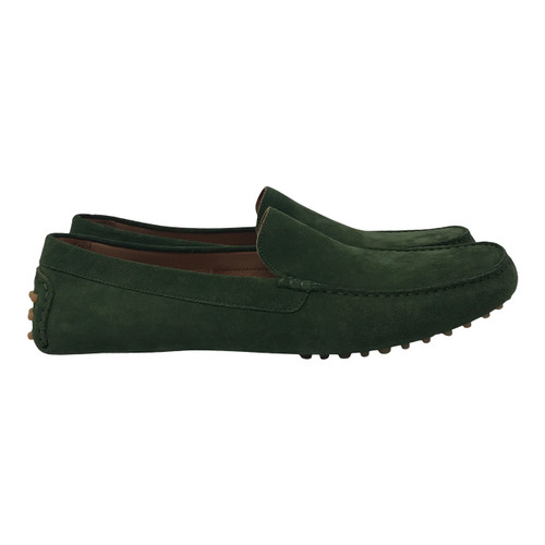 M. Gemi Suede Loafers-Side1