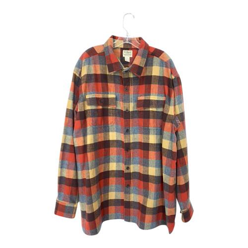 L.L. Bean Plaid Shirt-Front