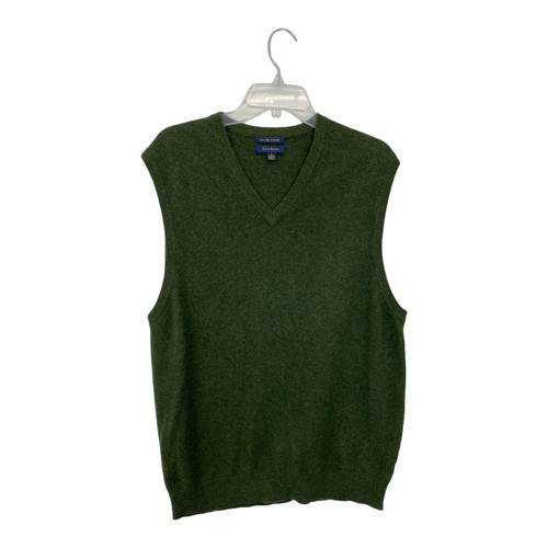 Club Room V-Neck Sweater Vest-Front