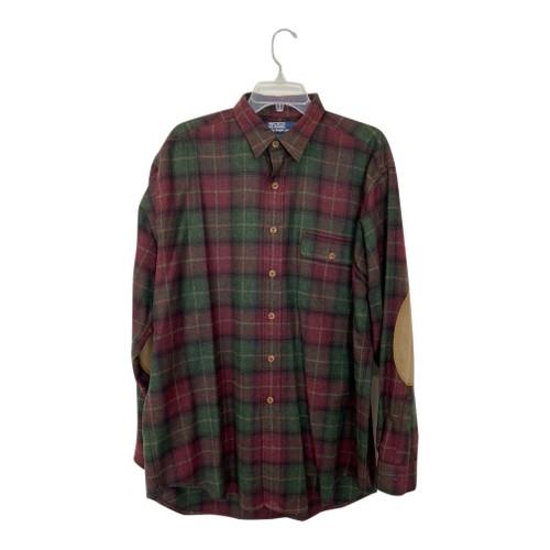 Polo Ralph Lauren Plaid Elbow Patch Shirt-Front