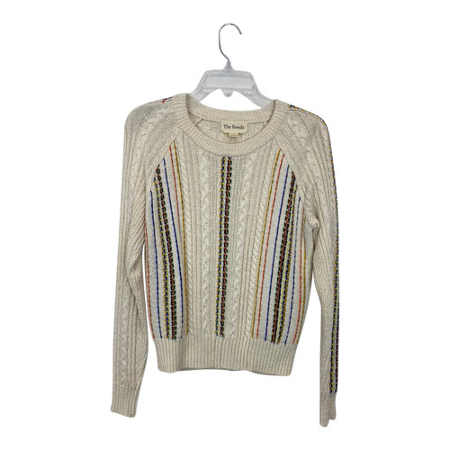 The Reeds Embroidered Knit Sweater-Front