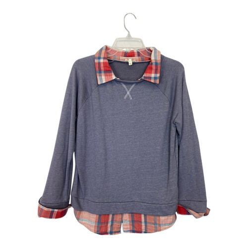 Soft by Joie Combination Sweatshirt-Front