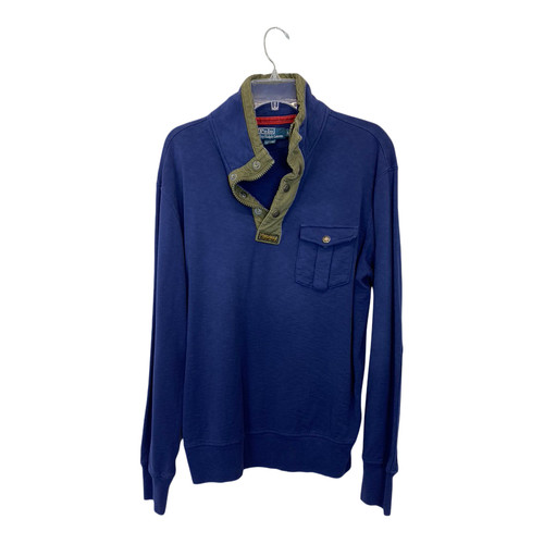 Polo Ralph Lauren French Terry Henley Pullover-Front