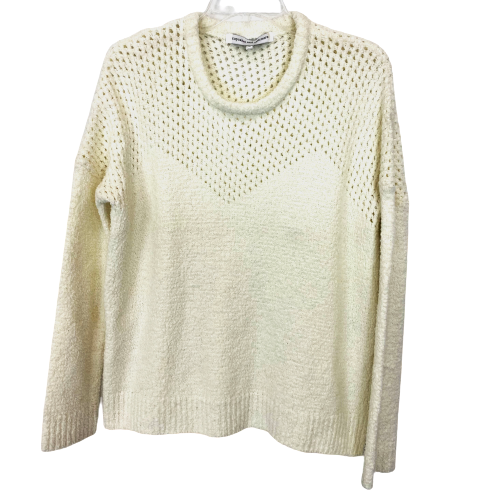 Cupcakes and Cashmere Plush Pointelle Sweater- Front