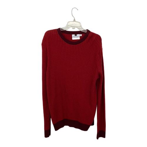 Topman 3-D Waffle Knit Sweater-Front