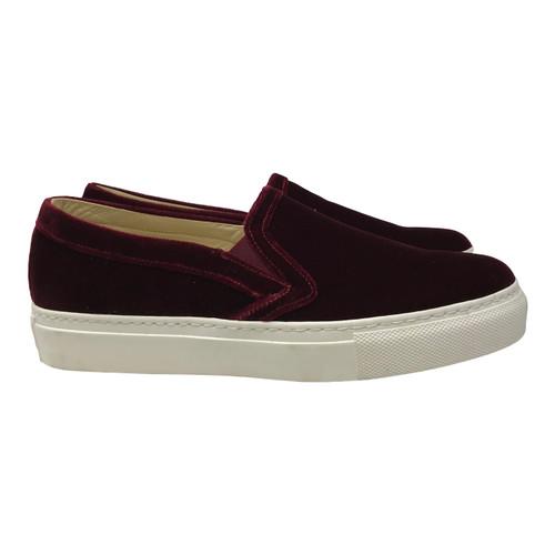 M. Gemi Cerchio Velvet Sneaker-Thumbnail