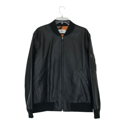Coach Leather Ma-1 Jacket-Thumbnail