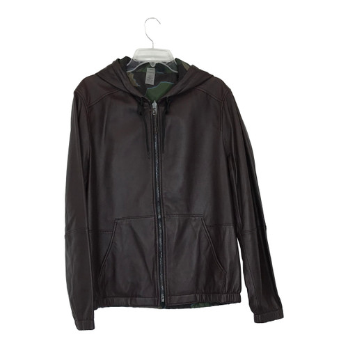 Coach Reversible Leather Trainer Jacket-Thumbnail