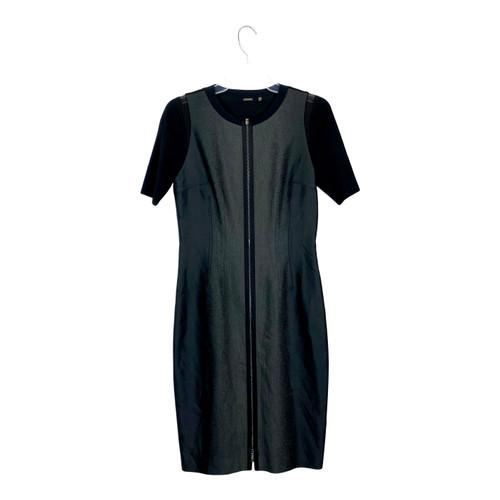Elie Tahari Zippered Sheath Dress- Front