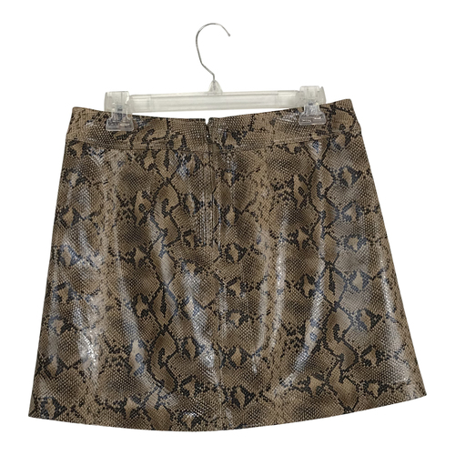 [BLANKNYC] Snake Print Skirt-Thumbnail