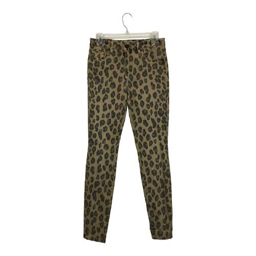 [BLANKNYC] Distressed Leopard Print Skinny Jean-Thumbnail