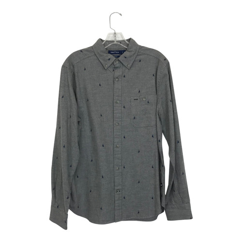 Nautica Flannel Button-Down-Thumbnail