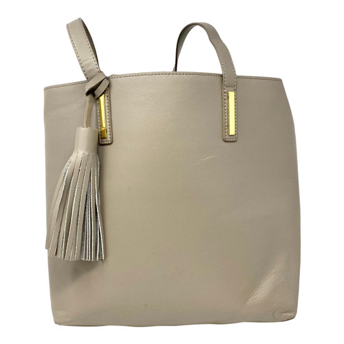 Joy and Iman Shopper Tote with Tassels-Thumbnail